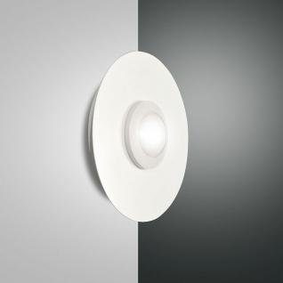 Fabas Luce 3270-23-102 Swan LED Wandleuchte Ø 25cm 700lm Wandlampe Weiß