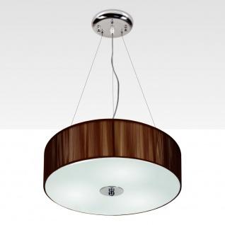 s.LUCE Twine M Stoff-Hängeleuchte / Hängelampe Stofflampe Braun - Vorschau 1