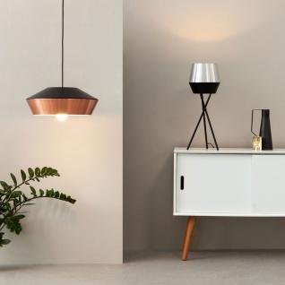 s.LUCE LED Pendelleuchte SkaDa Ø 40cm in Kupfer, Schwarz Pendellampe Hängelampe - Vorschau 1