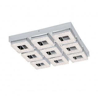 Eglo 95658 Fradelo LED Wand- & Deckenlampe 3600lm Chrom Klar