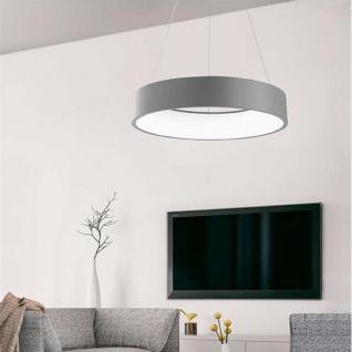 nova luce rando led h ngeleuchte 60cm 42w 3000k grau h ngelampe kaufen bei licht design. Black Bedroom Furniture Sets. Home Design Ideas