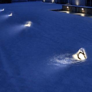 Panzeri LAMPyris LED Aussen Bodenleuchte 500lm Braun Designer Gartenleuchte - Vorschau 2
