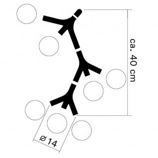 next DNA Triple Pendelleuchte Chrom Pendellampe - Vorschau 4