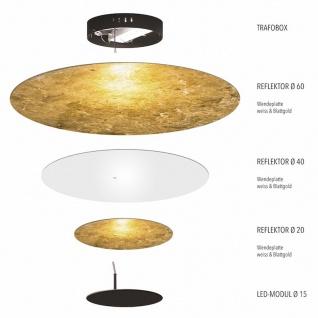 s.LUCE LED-Wand- und Deckenleuchte Plate Basis 230V