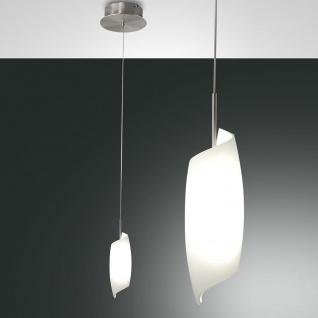 Fabas Luce 3300-40-178 Roxie LED Pendelleuchte mit dimmbaren LEDs 720lm Nickel-Satiniert