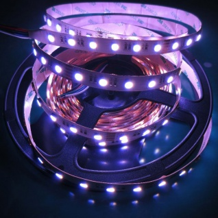 5m LED Strip-Set Ultra-Hell HighLumen Funk-Controller+FB RGB Kaltweiss