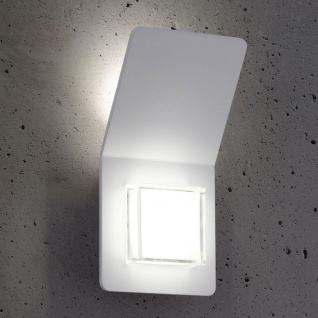 Pias LED-Wandleuchte Innen und Aussen Weiß Wandlampe Aussen