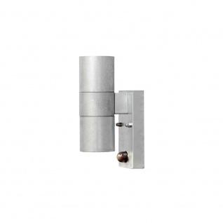 Konstsmide 7542-320 Modena Aussen-Wandleuchte mit Bewegungsmelder galvanisierter Stahl klares Glas Reflektor - Vorschau 3
