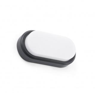 LED Außenwandleuchte FRED IP65 Weiß