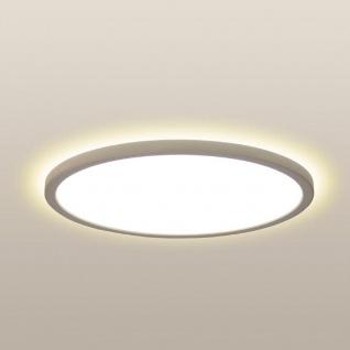 LED Deckenleuchte Board 60 Direkt & Indirekt 2700K Dimmbar per Schalter Weiß Deckenlampe Superflach