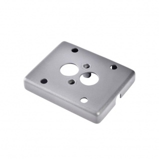SLV Montageplatte für MYRALED WALL Enola_C OUT Silbergrau 233214