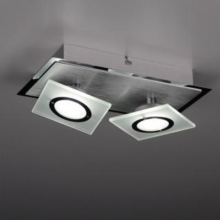 Licht-Trend Slew LED Wand- & Deckenleuchte mit zwei schwenkbaren Spots Lampe