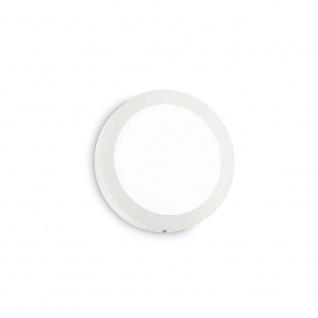 Ideal Lux Wandleuchte Universal 18W Rund Weiß