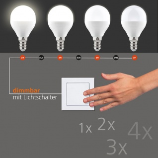 LED Switchmo dimmbares E14 Leuchtmittel 250lm 3, 5 W warmweiss