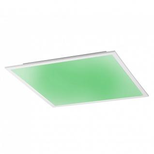 Licht-Trend Q-Flat 62 x 62 cm LED Deckenleuchte RGBW + Fb. / Weiss / Deckenlampe - Vorschau 4