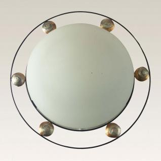Holländer 300 K 1610 Deckenleuchte 2-flammig Snail Three Eisen Braun-Gold-Silber