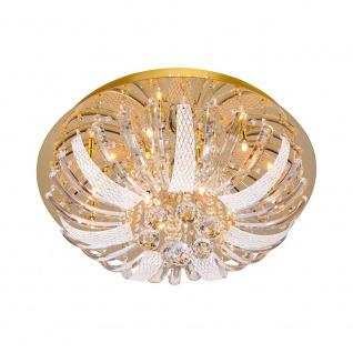 LeuchtenDirekt 50382-10 Sylla LED Deckenleuchte Kristallglas + Anhänger 10 x G4 14W + 88 x LED 0, 0 - Vorschau 1