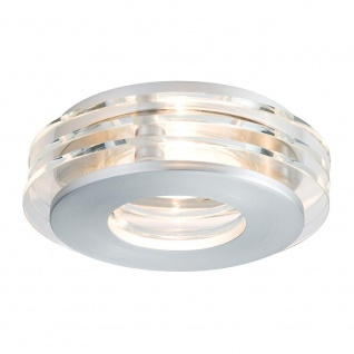 Paulmann Premium EBL Set Shell LED 3x3, 5W GU10 100mm Alu-Gebürstet Glas 92728