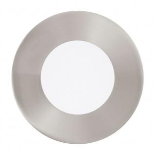 Eglo 95465 Fueva 1 LED Einbauspot Ø 8, 5cm 360lm Nickel-Matt