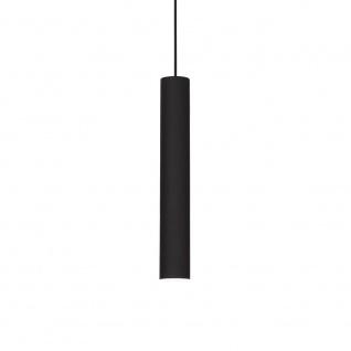 Ideal Lux 104928 Look Pendelleuchte Zylinder Ø 6cm Schwarz - Vorschau 2