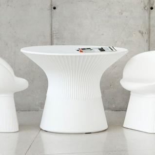 Licht-Trend Capri Tisch mit LED Solar-Beleuchtung und Fernbedienung