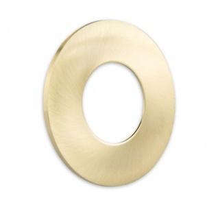 Cover für Einbaustrahler Sys-68 rund Gold-Gebürstet