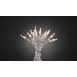 LED Minilichterkette One String mit Schalter 20 Warmweiße Dioden für Innen