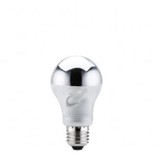 Paulmann Energiesparlampe AGL 9W E27 Kopfspiegel Silber 88079