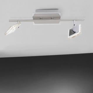 Paul Neuhaus 6962-17 LED-Wandleuchte DAAN 2er Spot Wand oder Decke 2x4W Chrom