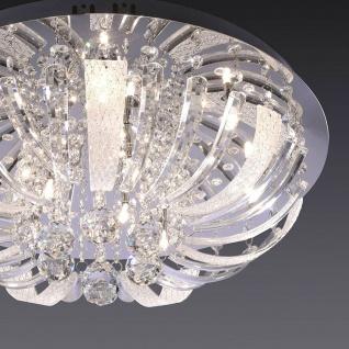LeuchtenDirekt 50382-17 Sylla LED Deckenleuchte 10 x G4 14W + 88 x LED 0, 05W Chrom - Vorschau 3