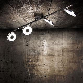 Licht-Trend Sempre Quattro LED 4er Balkenspot drehbar Deckenlampe Chrom