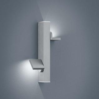 Helestra LED Wandlampe Arta Nickel-Matt Chrom