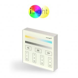 s.LUCE iLight Touch Panel für LED-Leuchtmittel CCT Kalt- & Warmweiß Schalter
