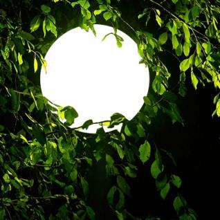 s.LUCE Hänge-Globe Kugellampe mit 12 Meter Kabel Ø 30cm Garten Kugelleuchte