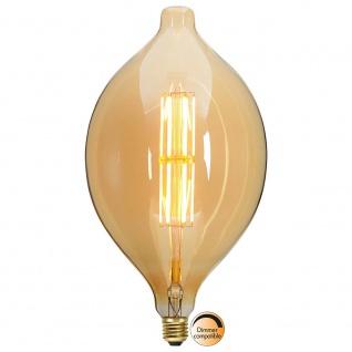 E27 Vintage LED 18cm Tropfen Dimmbar 650lm Extra Warmweiß