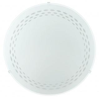 Eglo 82886 Twister Wand- & Deckenleuchte Ø 31, 5cm Motiv Linien Weiß