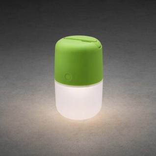 Assisi Solar LED Leuchte zum Hängen oder Hinstellen Grün Solar Gartenlampe Gartenleuchte