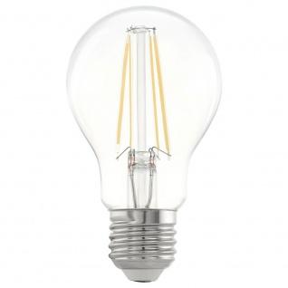Eglo 11534 E27 LED Retro Glühbirne 6, 5W 810lm Warmweiß LED Leuchtmittel
