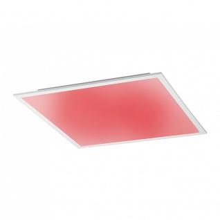 Licht-Trend Q-Flat 45 x 45cm LED Deckenleuchte RGBW + Fb. Weiss Deckenlampe - Vorschau 3