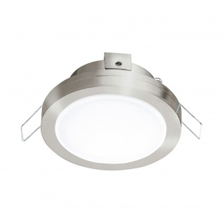 Eglo 95918 Pineda 1 LED Einbaustrahler 500lm Nickel-Matt Weiß