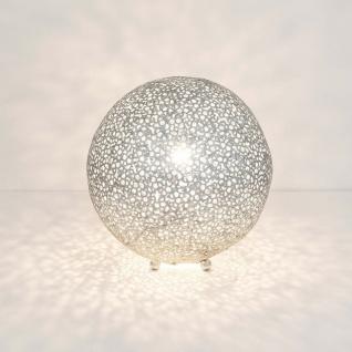 Holländer 300 K 12242 S Tischleuchte Lily Grande Eisen Silber