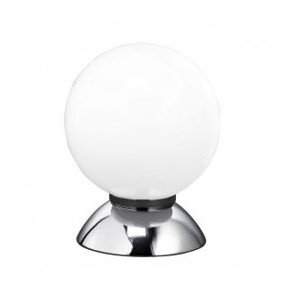 Wofi Pluto Tischleuchte Chrom Tischlampe