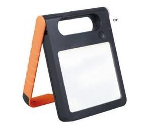 Mobile LED Solarlampe Padlight IP44 Orange Solar Gartenlampe Gartenleuchte