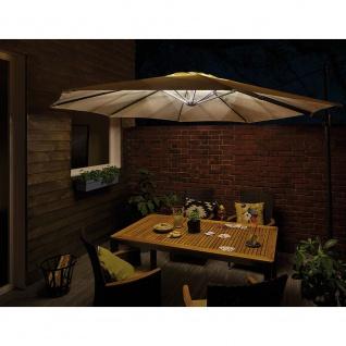Paulmann 94208 Outdoor Mobile LED-Strip für Sonnenschirm IP44 3000K USB Akku