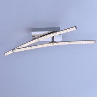 LeuchtenDirekt 11290-17 Simon LED Acryl Deckenleuchte 2x 5W 3000K Chrom - Vorschau 4