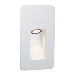 Paulmann Special EBL Set IP44 Wand Slot LED 2, 4W 90mm Weiß Alu 93808