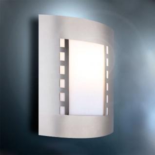 Parede Wand-Aussenleuchte aus Edelstahl 23 x 29cm Aussen-Wandlampe