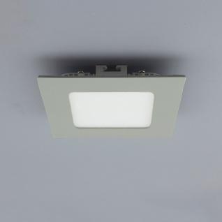 Licht-Design 30838 Einbau LED-Panel 200lm Dimmbar 9x9cm Warm Silber