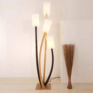 holl nder 300 k 11103 stehleuchte 4 flammig quadrangolare eisen braun schwarz gold kaufen bei. Black Bedroom Furniture Sets. Home Design Ideas