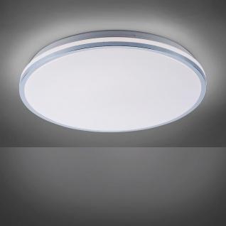 LeuchtenDirekt LED Deckenleuchte Isabell Ø 49cm Chrom